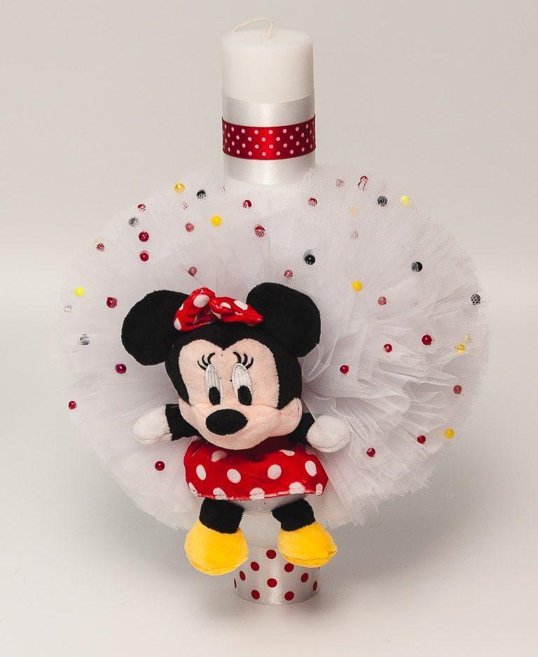 Lumanare botez Minnie