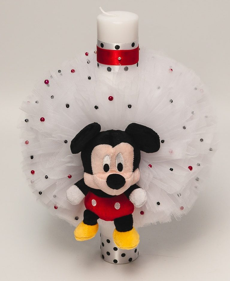 Lumanare botez Mickey