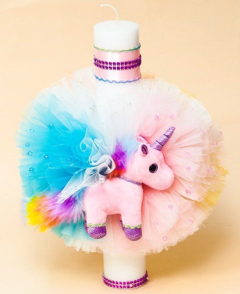 Trusou botez unicorn + borcan prima baita