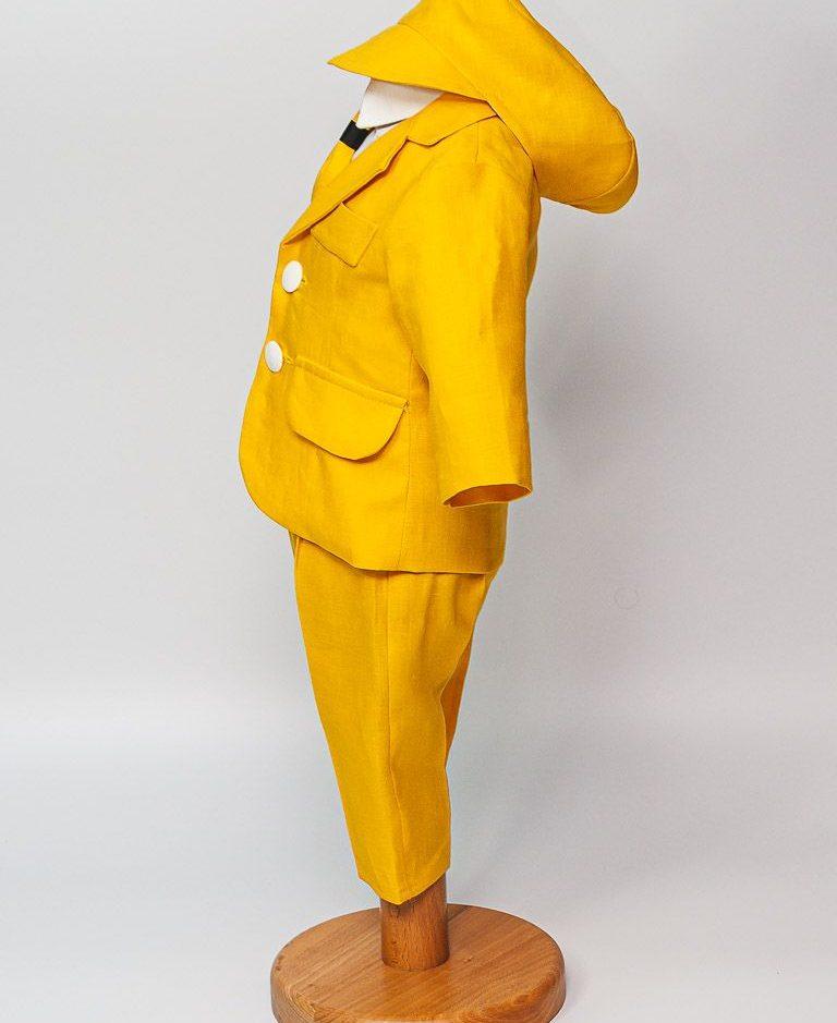 Costum Patrick, din in