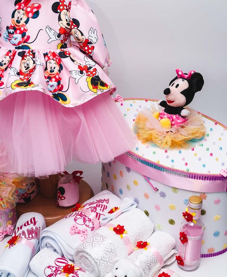 Trusou botez Minnie Mouse